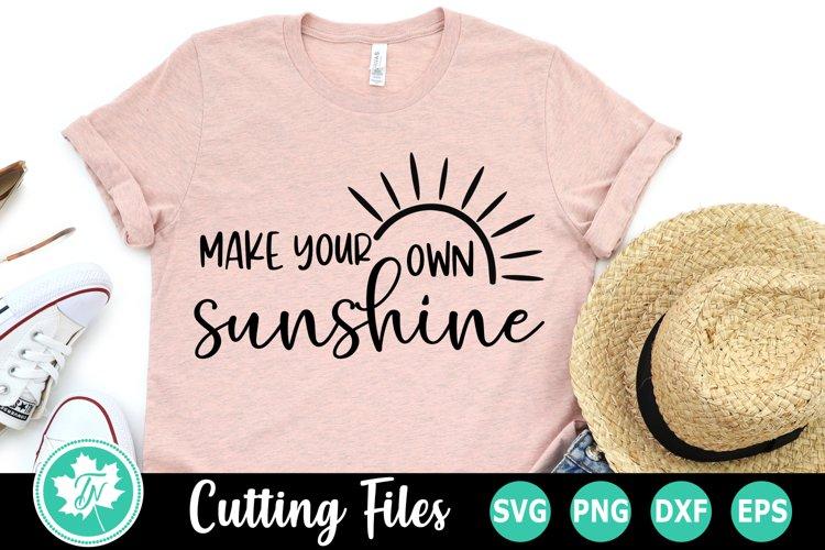 Make Your Sunshine - A Summer SVG Cut File