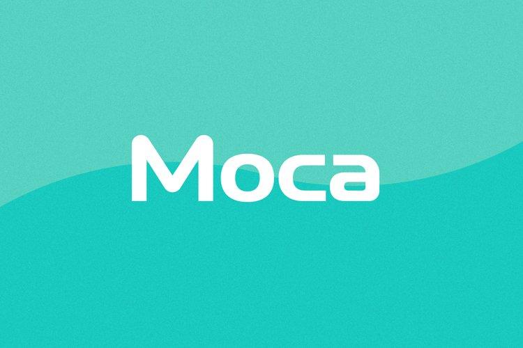 Moca Logo Font | Logo Use Only example image 1