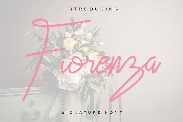 Fiorenza Signature Font example image 1