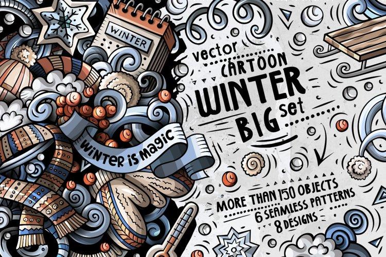 Winter Doodle Big Pack