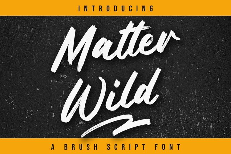 Matter Wild example image 1