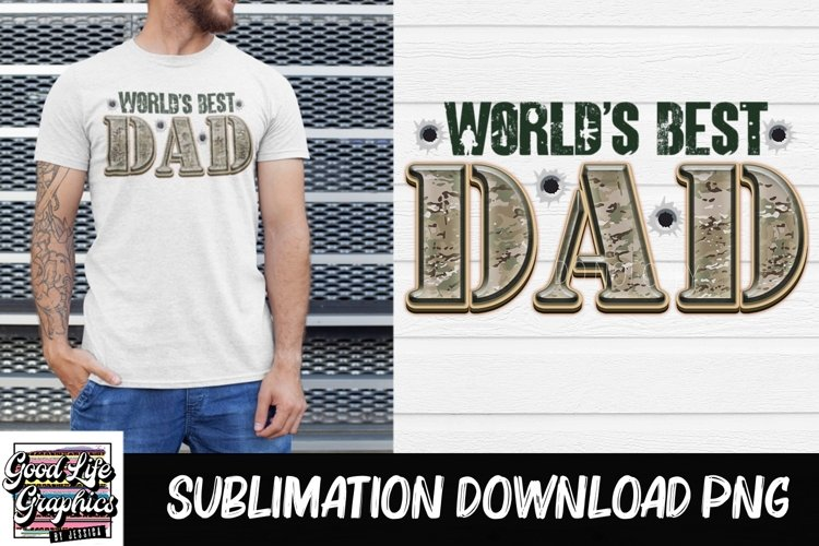 Sublimation designs for tshirts-Fathers Day-PNG