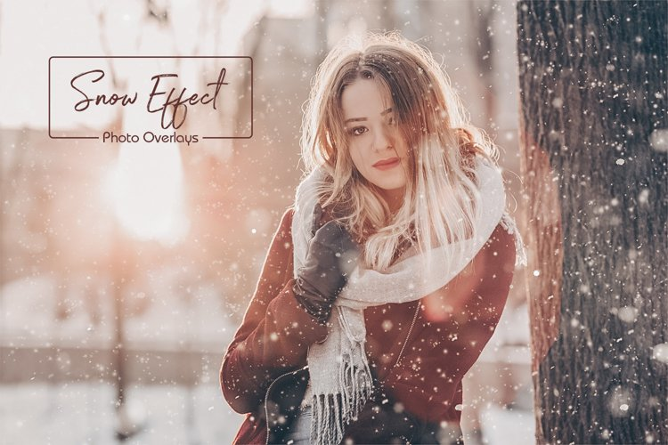 50 Snow Photo Overlays example image 1