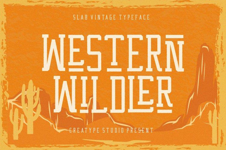 Western Wildler Slab Vintage example image 1
