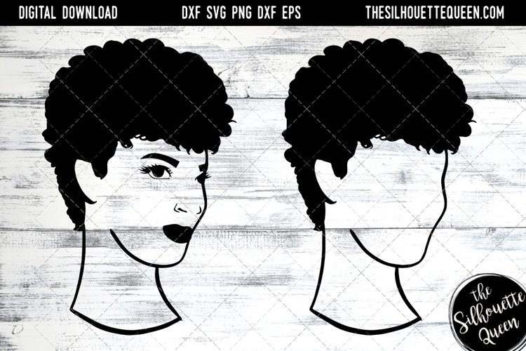 Afro Hair - Natural Short Kinky curls example image 1