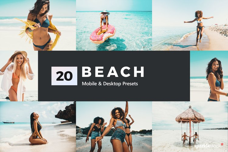 Beach Lightroom Presets & LUTs example image 1