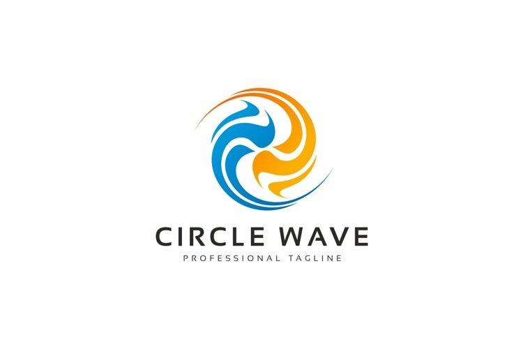 Circle Wave Logo example image 1