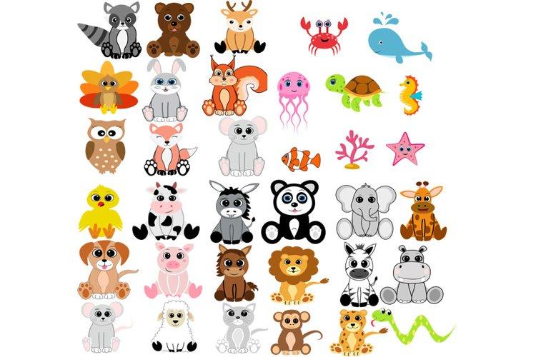 Forest animals bundle svg, woodland animal svg, animal svg,