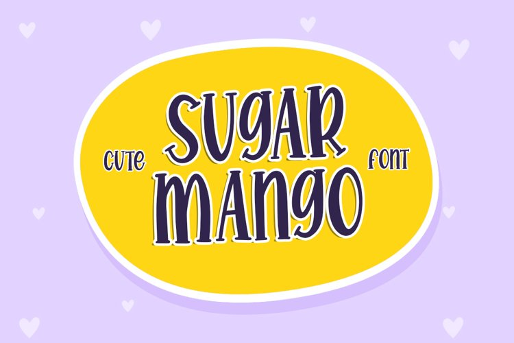 Sugar Mango - Quirky Font example image 1