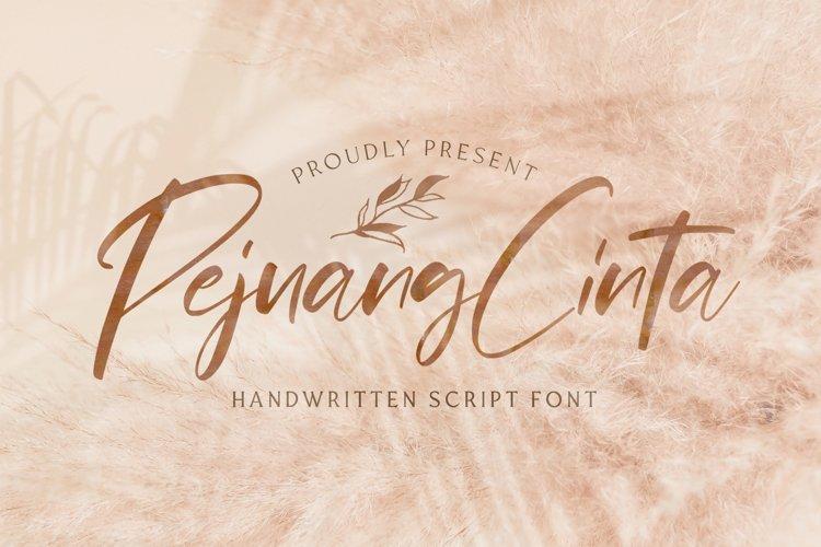 Pejuang Cinta - Handwritten Font example image 1
