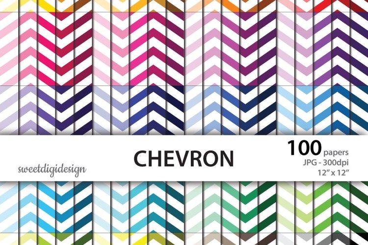 100 color chevron digital background example image 1