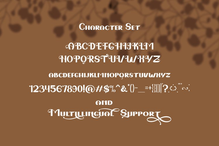 Love Fairy - Modern Display Font example 2