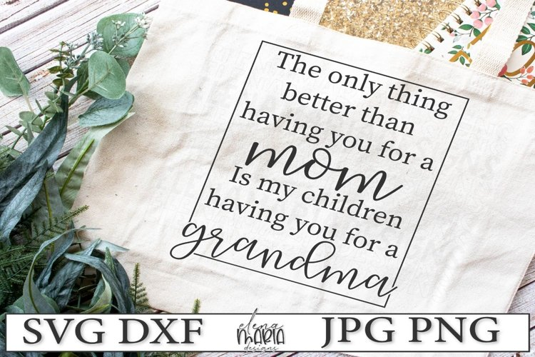 Grandma Svg | Mothers Day Svg example image 1