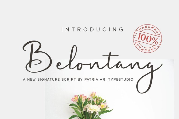 Belontang Signature example image 1