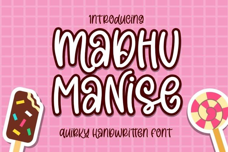 Madhu Manise example image 1