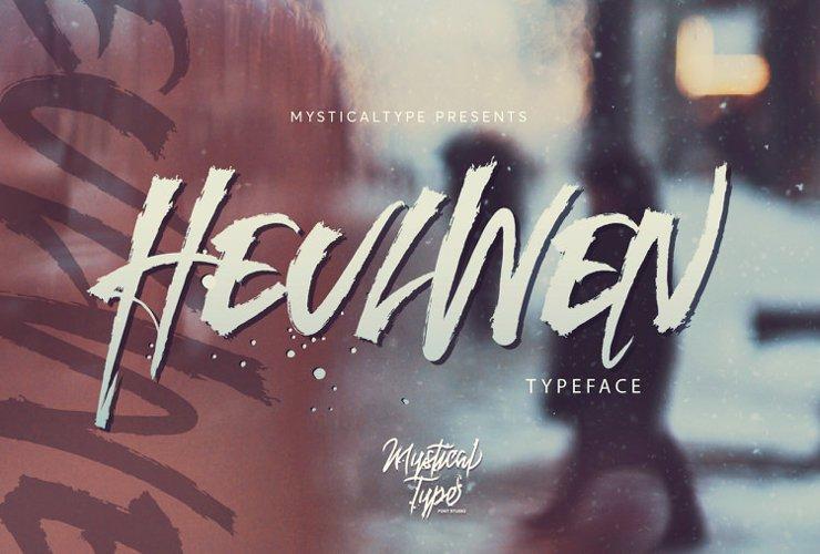 Heulwen Typeface example image 1