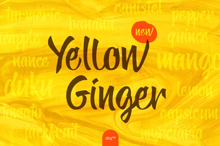 Yellow Ginger example image 1