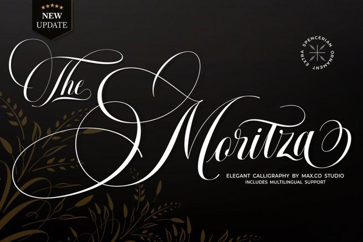 Moritza Script example image 1