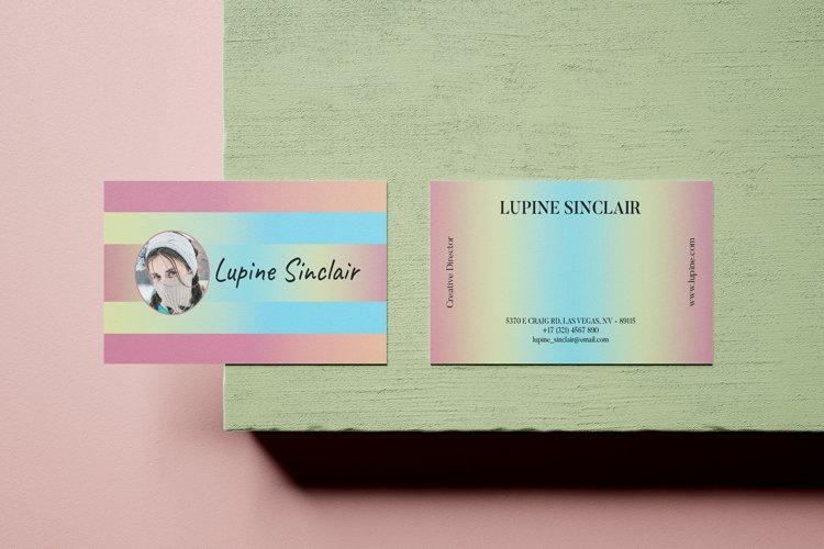 Gradient Business Card - Vol.27