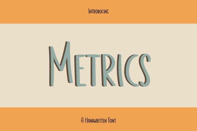 Metrics example image 1