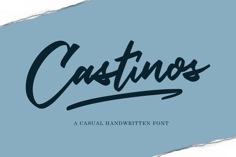 Castinos Script example image 1