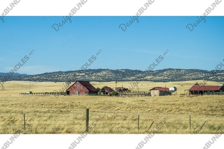 Rural landscape in California, USA example image 1