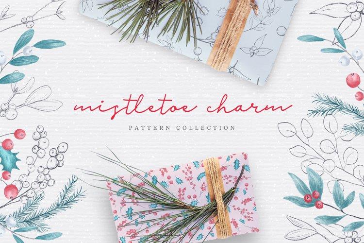 Mistletoe Charm - Pattern Set