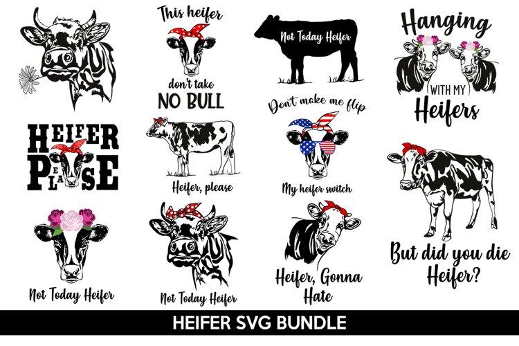 Heifer SVG Bundle, not today heifer svg, heifer please svg