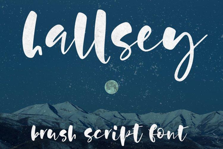 Hallsey - main promo image