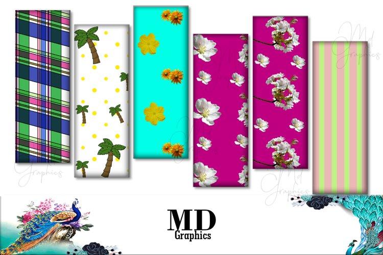 Summer images, summer digital bookmarks, summer cards,flower example image 1