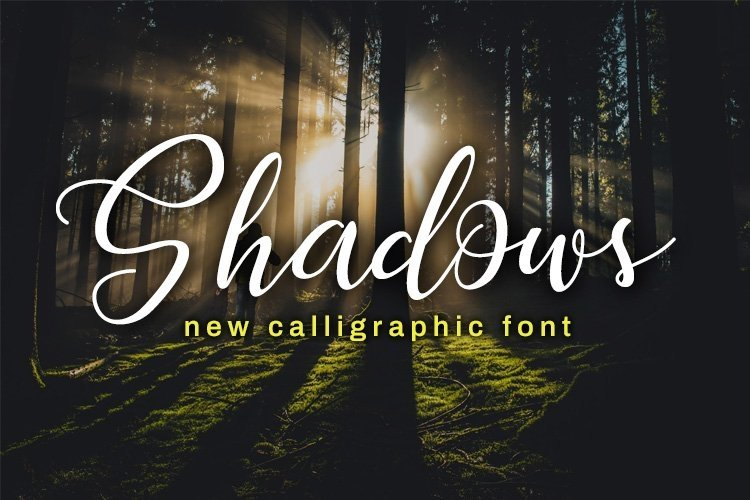 Web Font Shadows example image 1
