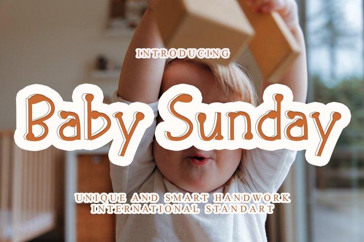 Baby Sunday example image 1