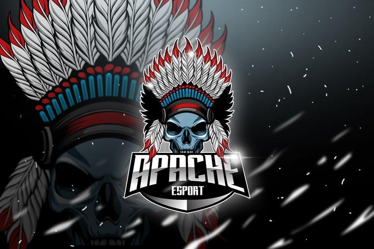 Apache - Mascot & Esport Logo example image 1