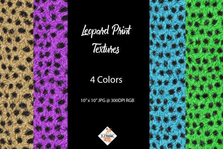Leopard Print Texture Backgrounds