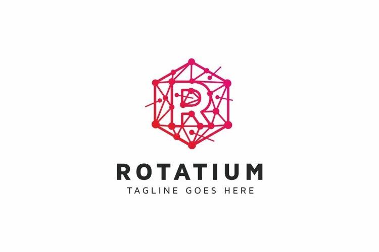 Rotatium R Letter Logo example image 1