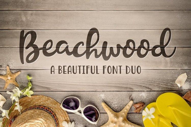 Beachwood Font Duo example image 1