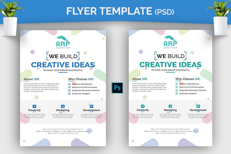 Creative Flyer Template example image 1