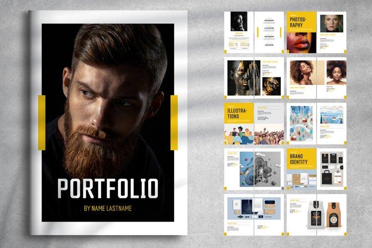 Portfolio Print Layout