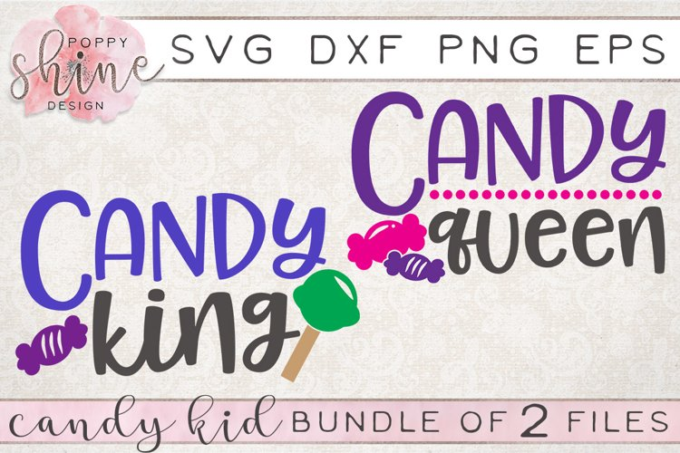 Candy Kid Bundle of 2 SVG PNG EPS DXF Cutting Files