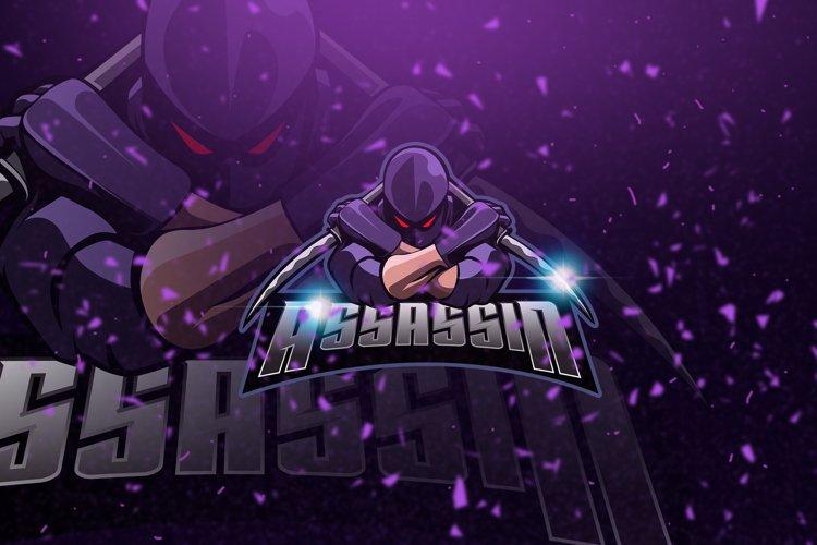 Assassiin - Mascot & Esport Logo example image 1