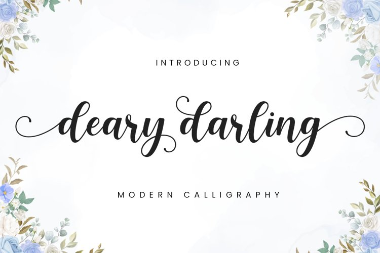 Deary Darling example image 1