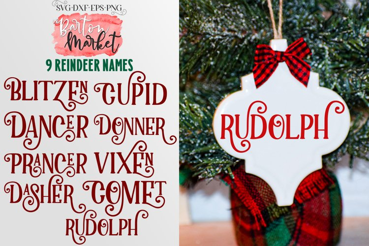 Reindeer Names for Crafters