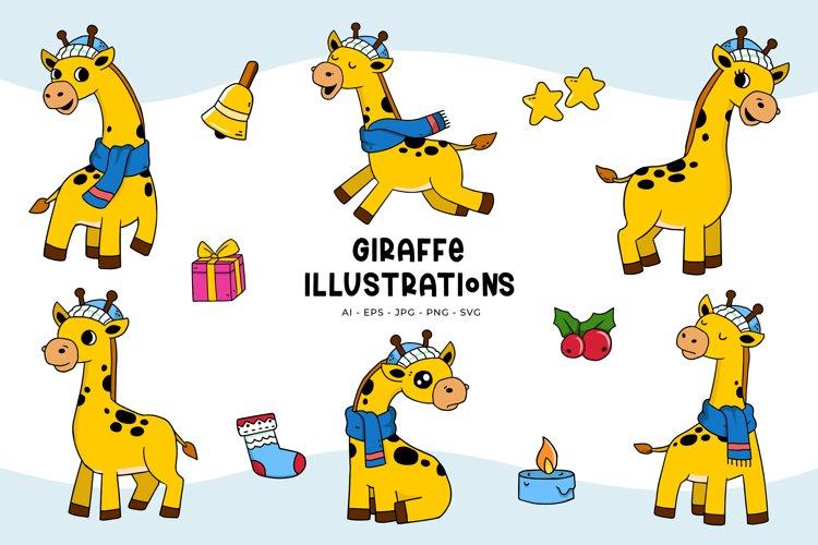 Giraffe Illustrations