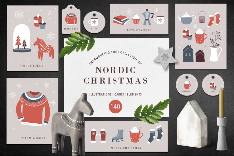 Nordic Christmas - winter collection example image 1