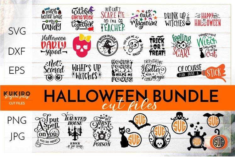 Halloween BUNDLE SVG Cut file - Funny, Kids Halloween Bundle