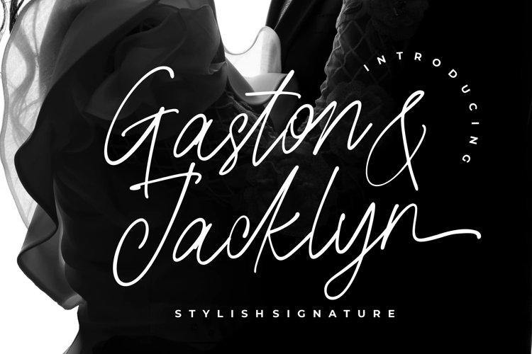 Gaston & Jacklyn Stylish Signature example image 1