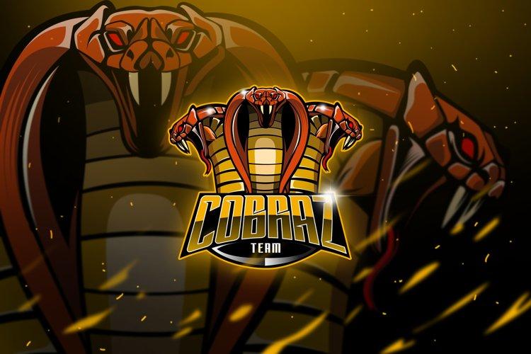 Cobraz Team - Mascot & Esport Logo example image 1