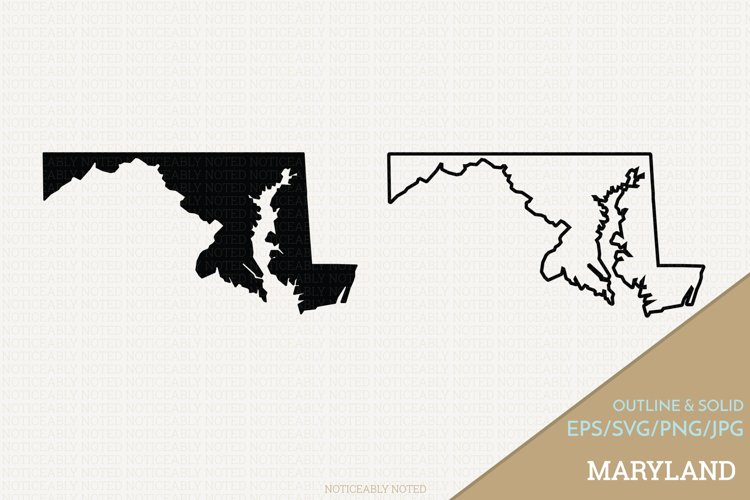 Maryland Vector / Clip Art