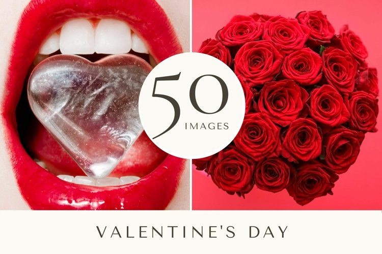 50 Images | Valentines Day Stock Photo Bundle