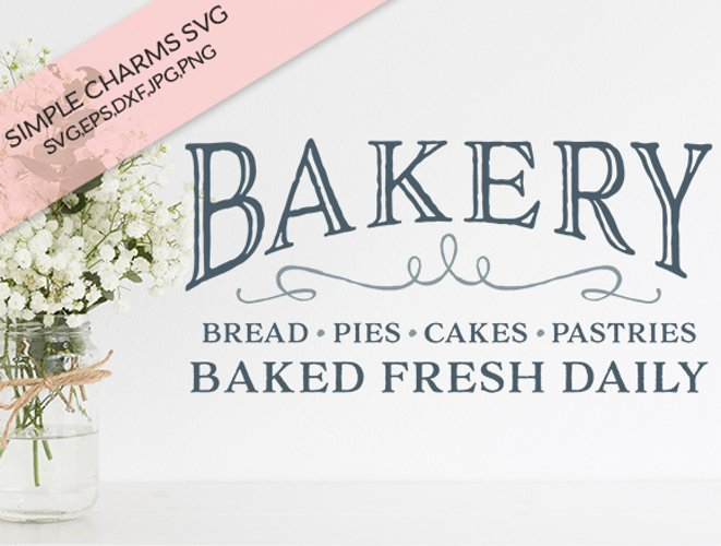Bakery cut file example image 1